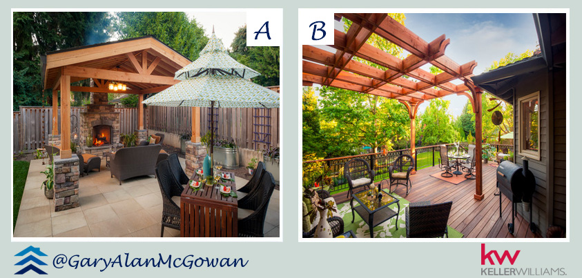 A or B Deck - Patio Idea
