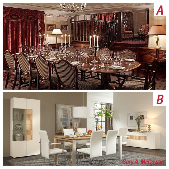 A or B Dining Room