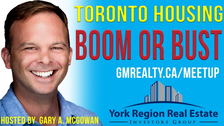 Youtube Toronto Housing Boom or Bust Thumbnail